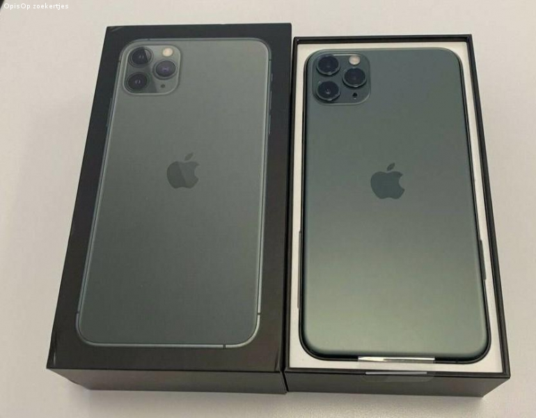 Apple iPhone 11 Pro 64GB = €400,iPhone 11 Pro Max 64GB =€430