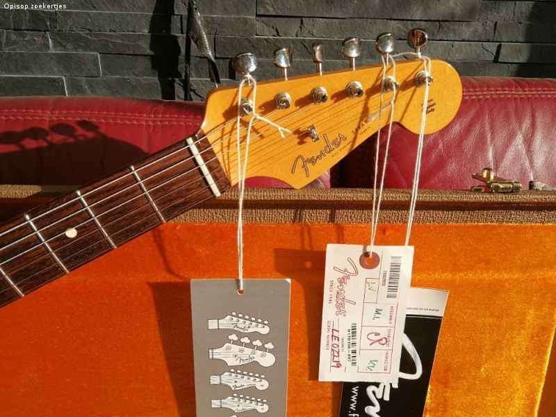 Fender stratocaster 62 reissue limited edition Usa