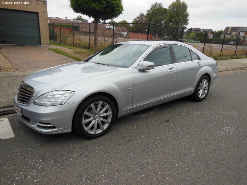 Mercedes S350 cdi bleu-Efficiency, Multimedia - euro 6 !!!