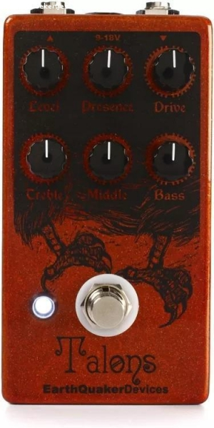 Talons overdrive van Eartquaker devices usa