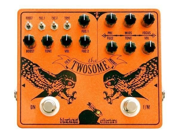 Twosome black out effectors double fuzz usa
